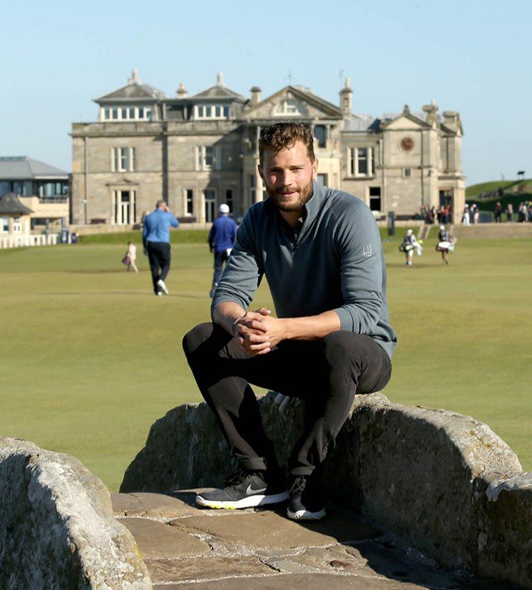 10 Questions: Jamie Dornan back at St Andrews