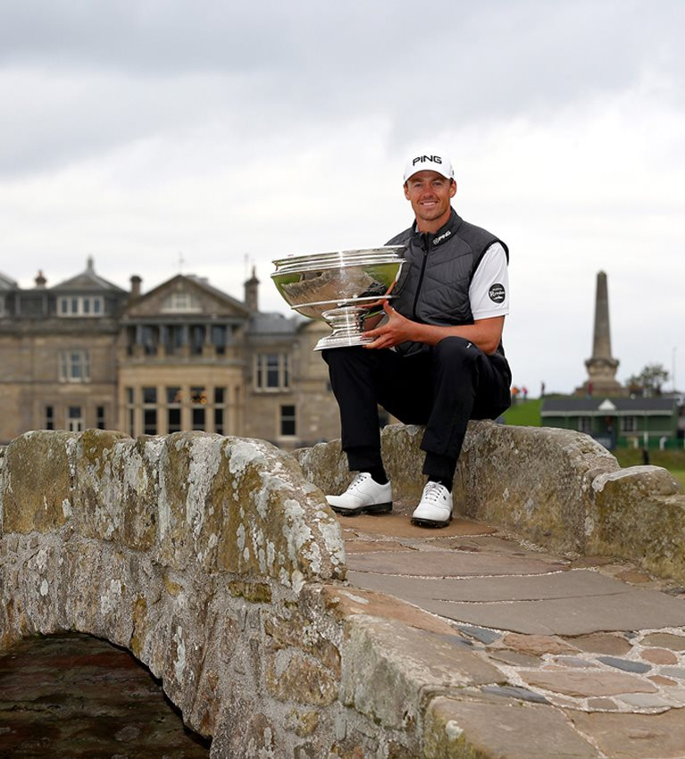 Magnifique! Victor Perez becomes first French winner of the Alfred Dunhill Links