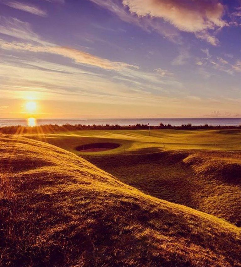 The unique beauty of links golf - A photo worthy of first prize